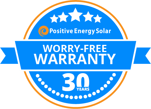 Positive Energy Solar 30-year standard solar warranty