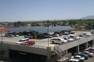 Las Cruces City Hall Solar Carport