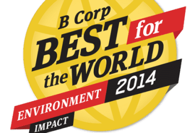 B Corp Best For The World Environment Impact 2014